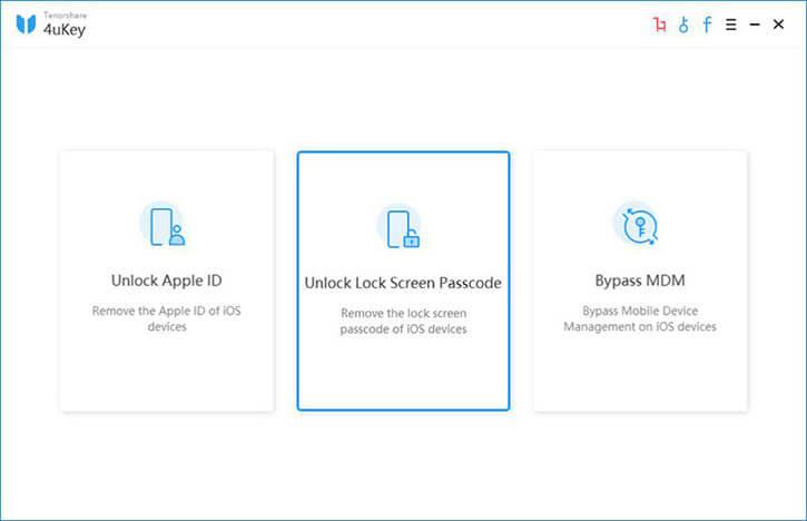 4ukey unlcok lock screen passcode