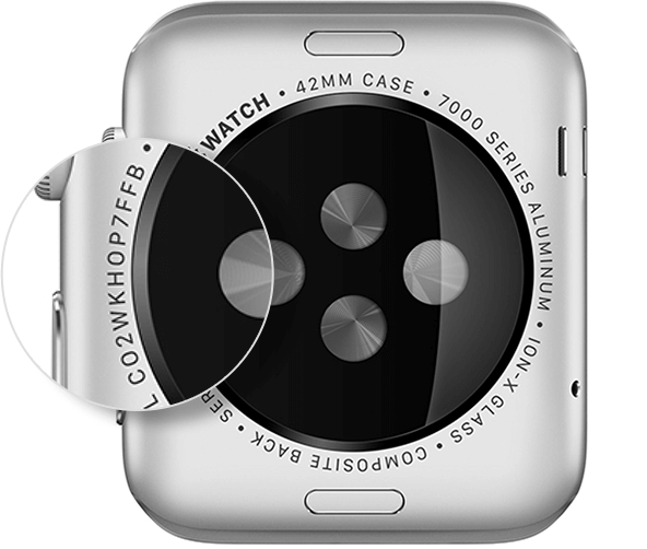 apple watch serial number