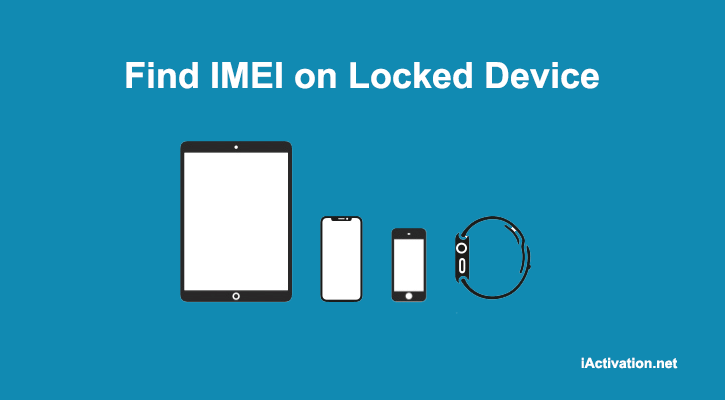 find imei on locked ios device