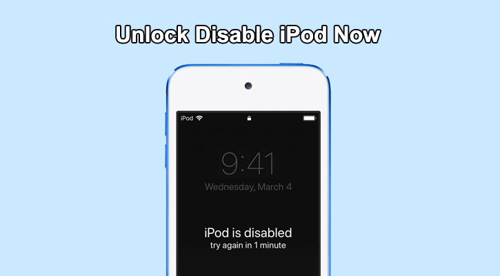ipod is disabled banner