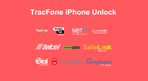 tracfone iphone unlock