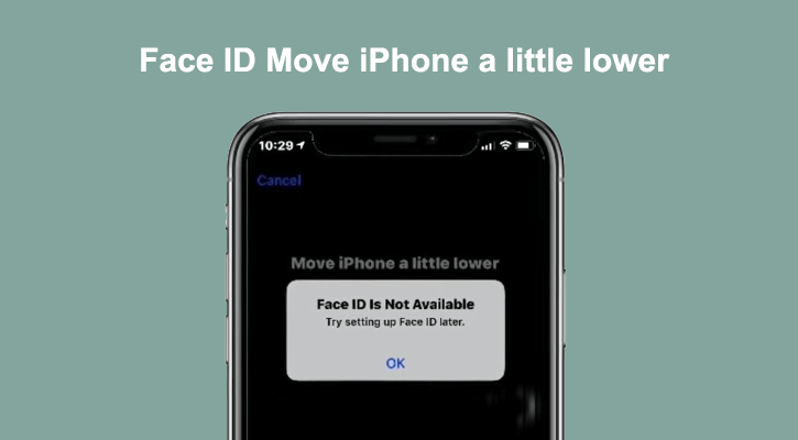 move iphone a little lower