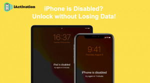 unlock disabled iphone without losing data