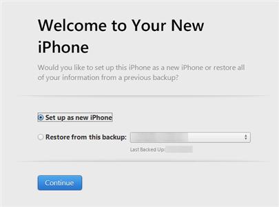 activate iphone itunes