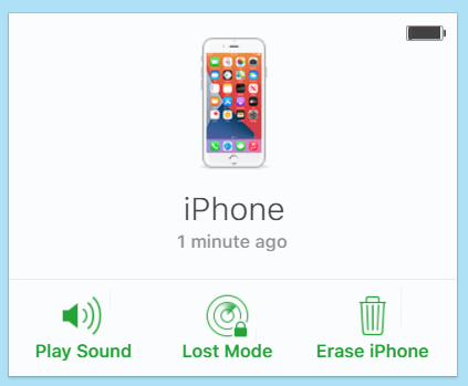 icloud erase iphone