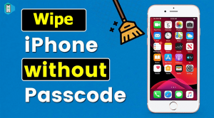 wipe iphone without passcode