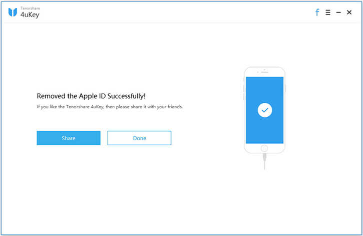 4ukey apple id removed