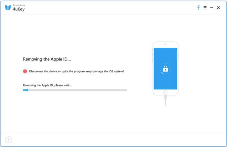 4ukey unlocking apple id