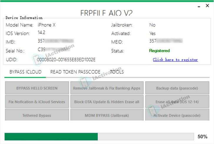 frpfile icloud bypass tool unlocking