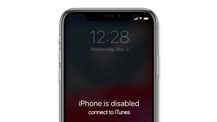 iphone 11 disabled connect to itunes