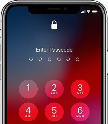 iphone 12 enter passcode
