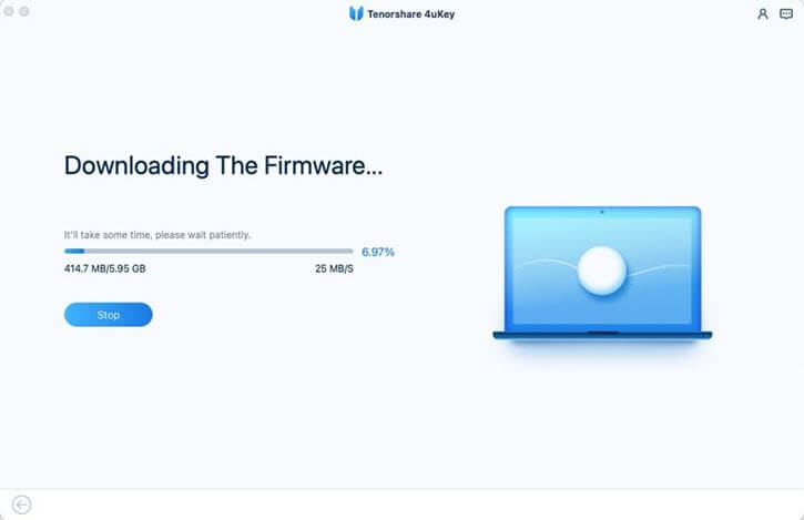 new 4ukey download firmware