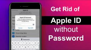 get rid of apple id