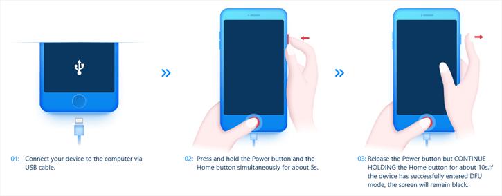 iphone 6s and below dfu