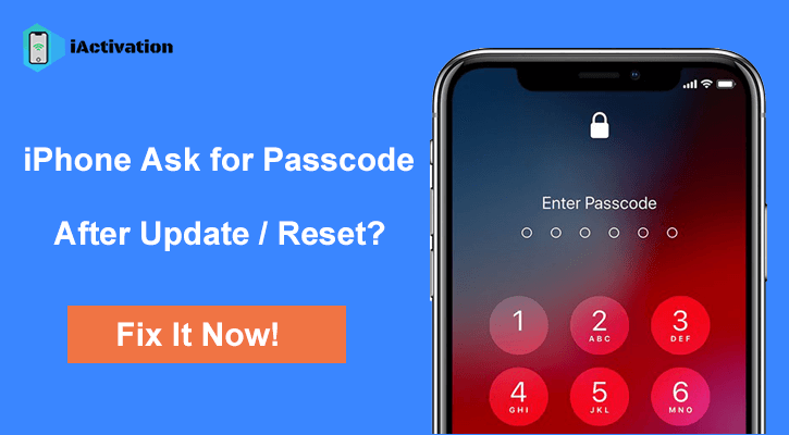 iphone ask for passcode update