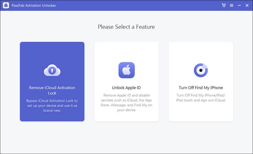 passfab home interface