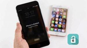 unlock disabled iphone bg